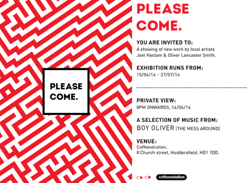 PLEASE COME exhibition flyer-1 copy